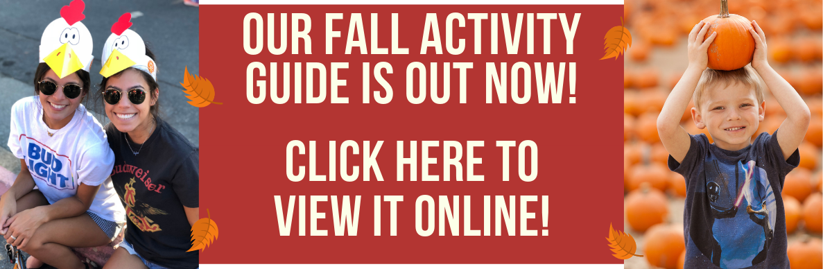 Fall 2019 Activity Guide Available Now