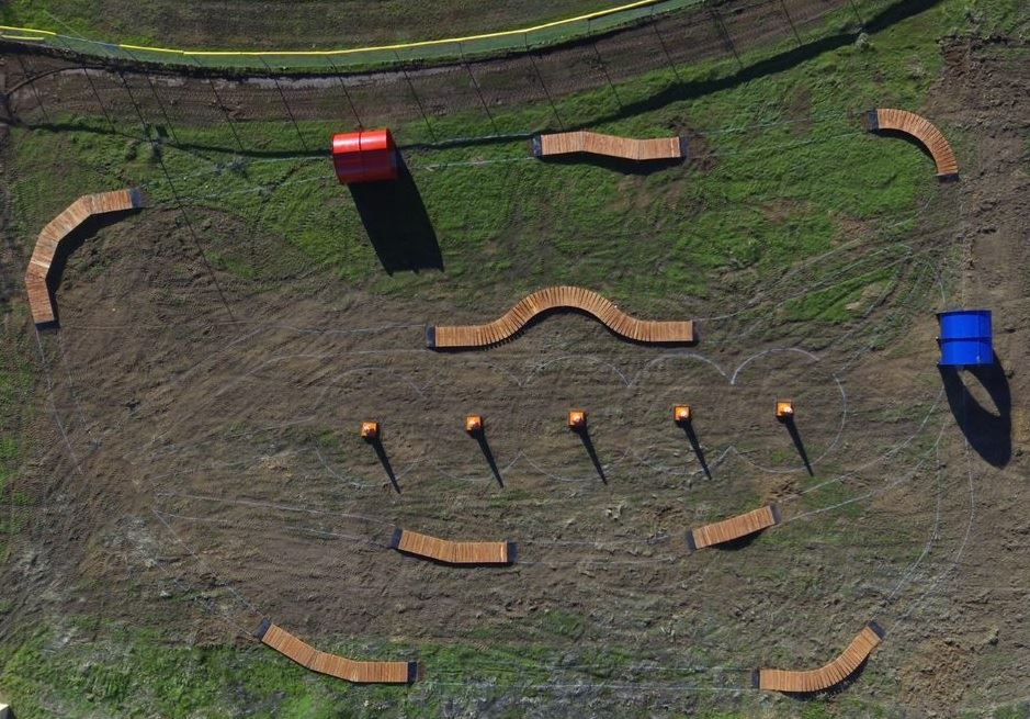 Fair Oaks Bike Park - aerial image
